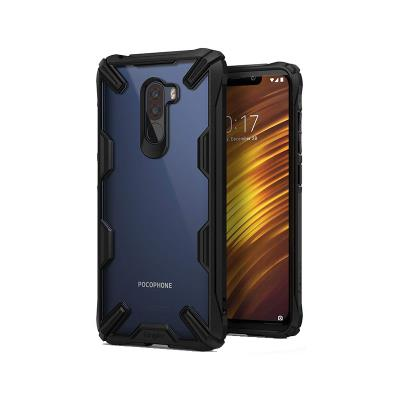 Capa Fusion X Xiaomi Pocophone F1 Preta
