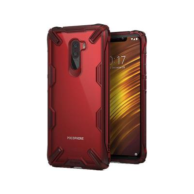 Capa Fusion X Xiaomi Pocophone F1 Vermelha