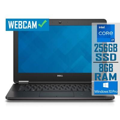 "Laptop Dell Latitude E7270 12"" i7-6600U SSD 256GB/8GB Refurbished"