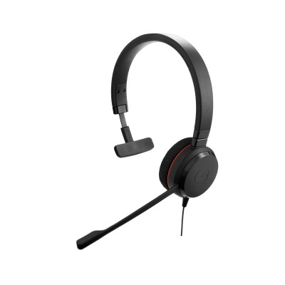 Headset Jabra Evolve 20 UC Mono Preto
