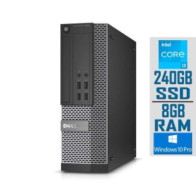 Desktop Dell OptiPlex 7020 SFF i3-4160 SSD 240GB/8GB Refurbished