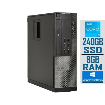 Desktop Dell 9010 SFF i3-3220 SSD 240GB/8GB Refurbished
