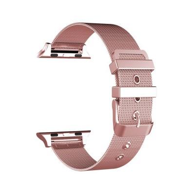 Metal Watch Band Apple Watch Series 1/2/3/4/5 42/44 mm Pink