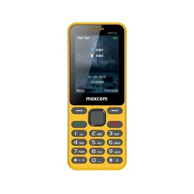 Maxcom MM139 Dual SIM Yellow