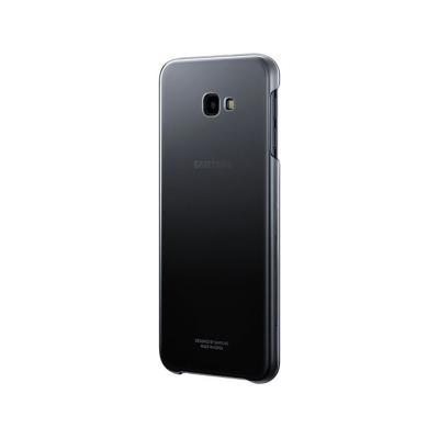 Gradation Clear Cover Cover EF-AJ415 Samsung J4 Plus 2018 Black