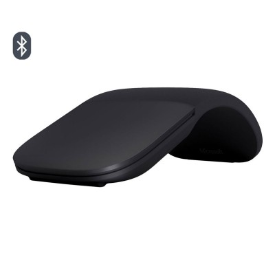 Wireless Mouse Microsoft Mouse Arc Touch Bluetooth Black (ELG-00006)
