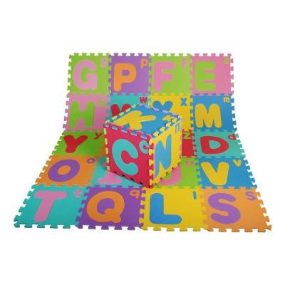 Puzzle Carpet Letras 26 Peças