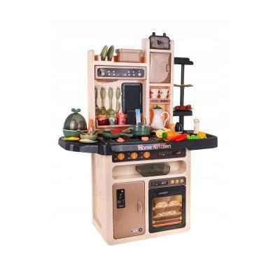 Play Kitchen Mega w/Accessories Brown