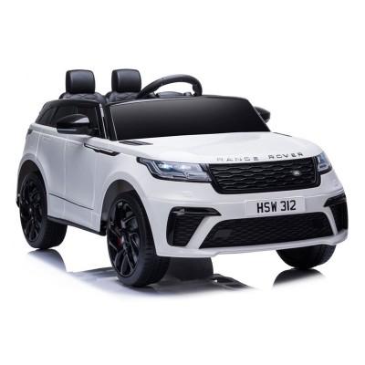 Carro Elétrico Range Rover 12V Branco