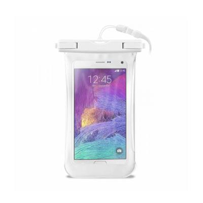"Funda a prueba de agua para Teléfono móvil 4.5""- 5.5"" Blanco"