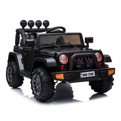Electric Car Jeep BRD-7588 12V Black