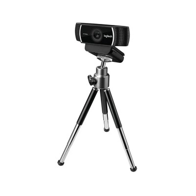 Webcam Logitech C922 Pro Stream FHD c/Microfone Preta