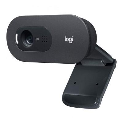Webcam Logitech C505 HD w/Microphone Black