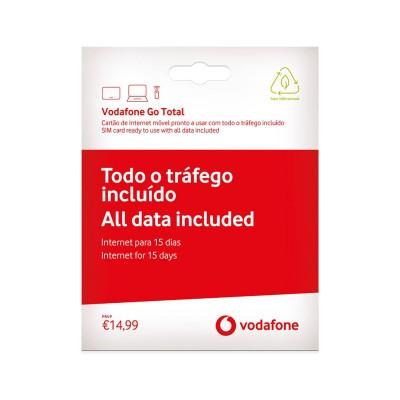 Cartão Banda Larga Móvel Vodafone Go Total