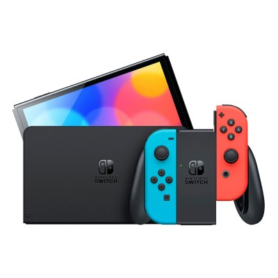 Console Nintendo Switch OLED Version 64GB Blue/Red