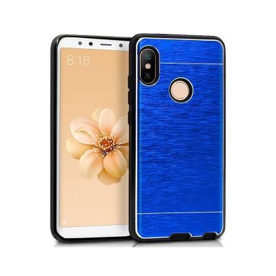 Funda Silicone Premium Xiaomi Mi A2/Mi 6X Azul