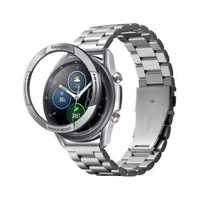 Protection Spigen Chrono Samsung Galaxy Watch 3 45mm Silver