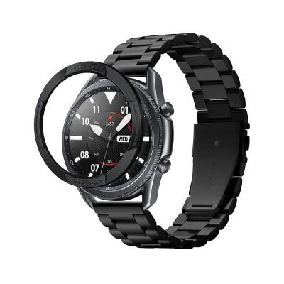Proteção Spigen Chrono Samsung Galaxy Watch 3 45mm Preta