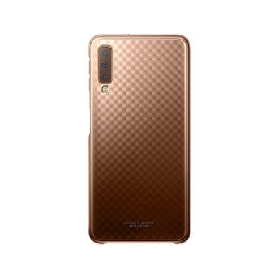 Gradation Clear Cover EF-AA750CFE Samsung A7 2018 Gold
