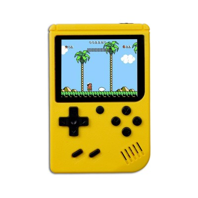 Handheld Console Classic w/400 Games Yellow