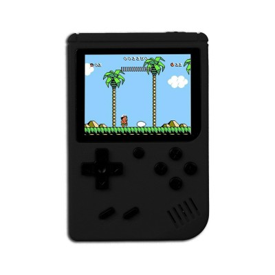 Handheld Console Classic w/400 Games Black