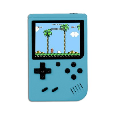 Handheld Console Classic w/400 Games Blue
