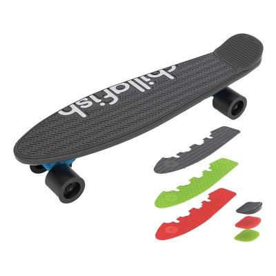 Skateboard Chillafish Skatie Preto Mix Recondicionado