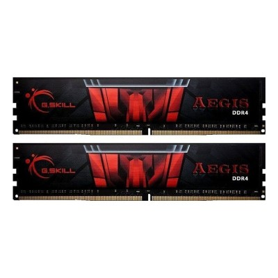 Memória Ram G.Skill Aegis 32GB DDR4 (2x16GB) 2400MHz (F4-2400C17D-32GIS)