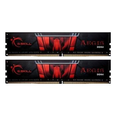 RAM Memory G.Skill Aegis 32GB DDR4 (2x16GB) 2400MHz (F4-2400C17D-32GIS)