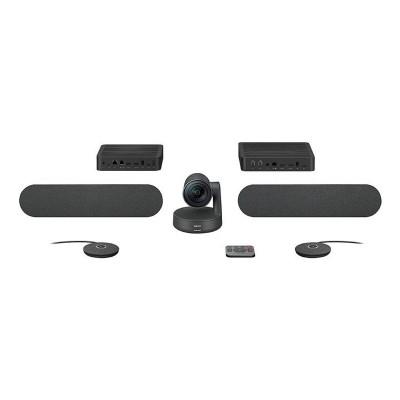 Sistema de Videoconferência Logitech Rally Plus 4K UHD c/ Microfone