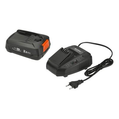 Bateria Gardena Starter Kit P4A PBA 18V/45 2.5A Preta (14906-20)