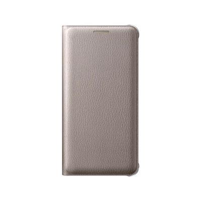 Original Flip Cover Case Samsung A3 2016 Gold (EF-WA310PFE)
