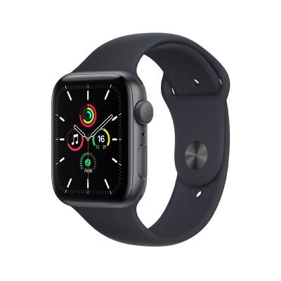 Smartwatch Apple Watch SE 44 mm GPS w/Sports Bracelet Midnight Black