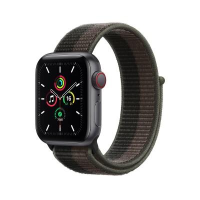 Smartwatch Apple Watch SE GPS + Cellular 44mm w/Sports Loop Bracelet Gray Tornado