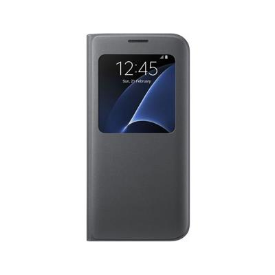 Capa S-View Original Samsung S7 G930 Cinza (EF-CG930PSE)