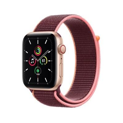 Smartwatch Apple Watch SE GPS + Cellular 44mm c/Bracelete Loop Desportiva Plum