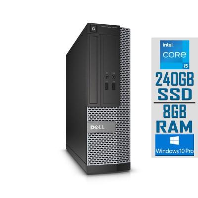 Desktop Dell OptiPlex 3020 SFF i5-4690S SSD 240GB/8GB Refurbished