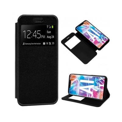 Funda Flip Cover Huawei Mate 20 Lite Negra