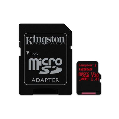 Memory Card Kingston Micro SD 128GB V30 Class 10 Black