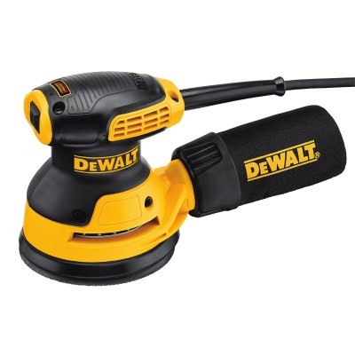Lixadeira Elétrica DeWALT DWE6423-QS 280w Amarela/Preta