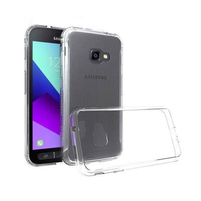 Funda Silicone Samsung Galaxy Xcover 4 G390 Transparente