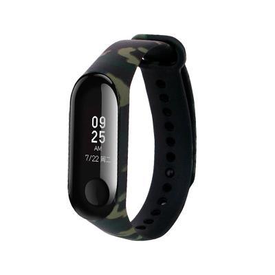 Silicone Bracelet Xiaomi Mi Band 3/4 Military Print
