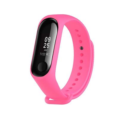 Silicone Bracelet Xiaomi Mi Band 3 Pink