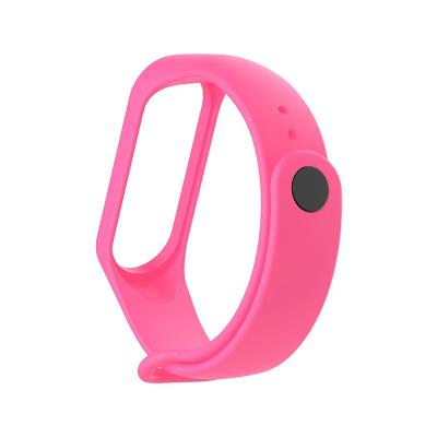 Silicone Bracelet Xiaomi Mi Band 3/4 Pink