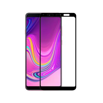 Fullscreen Tempered Glass Film Samsung A9 2018 A920 Black