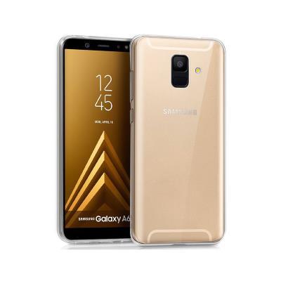 Silicone Samsung A600 A6 2018 Transparente