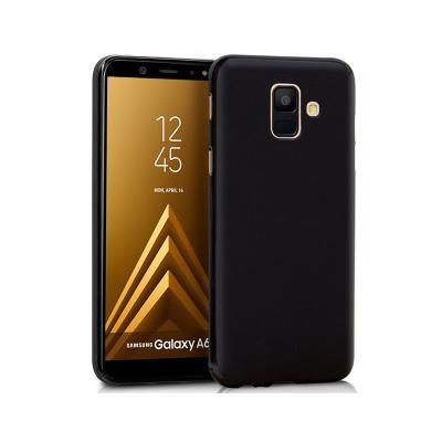 Samsung Silicone Case A600 A6 2018 Black