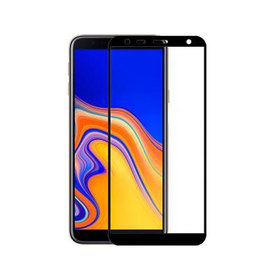 Película de Vidrio Temperado Samsung A7 2018/A8 Plus/J4 Plus/J6 Plus Fullscreen Negra