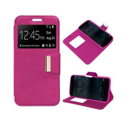 Flip Cover Case Huawei Y5 2018 / Honor 7S Pink