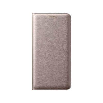 Original Flip Cover Case Samsung A5 2016 Gold (EF-WA510PFE)